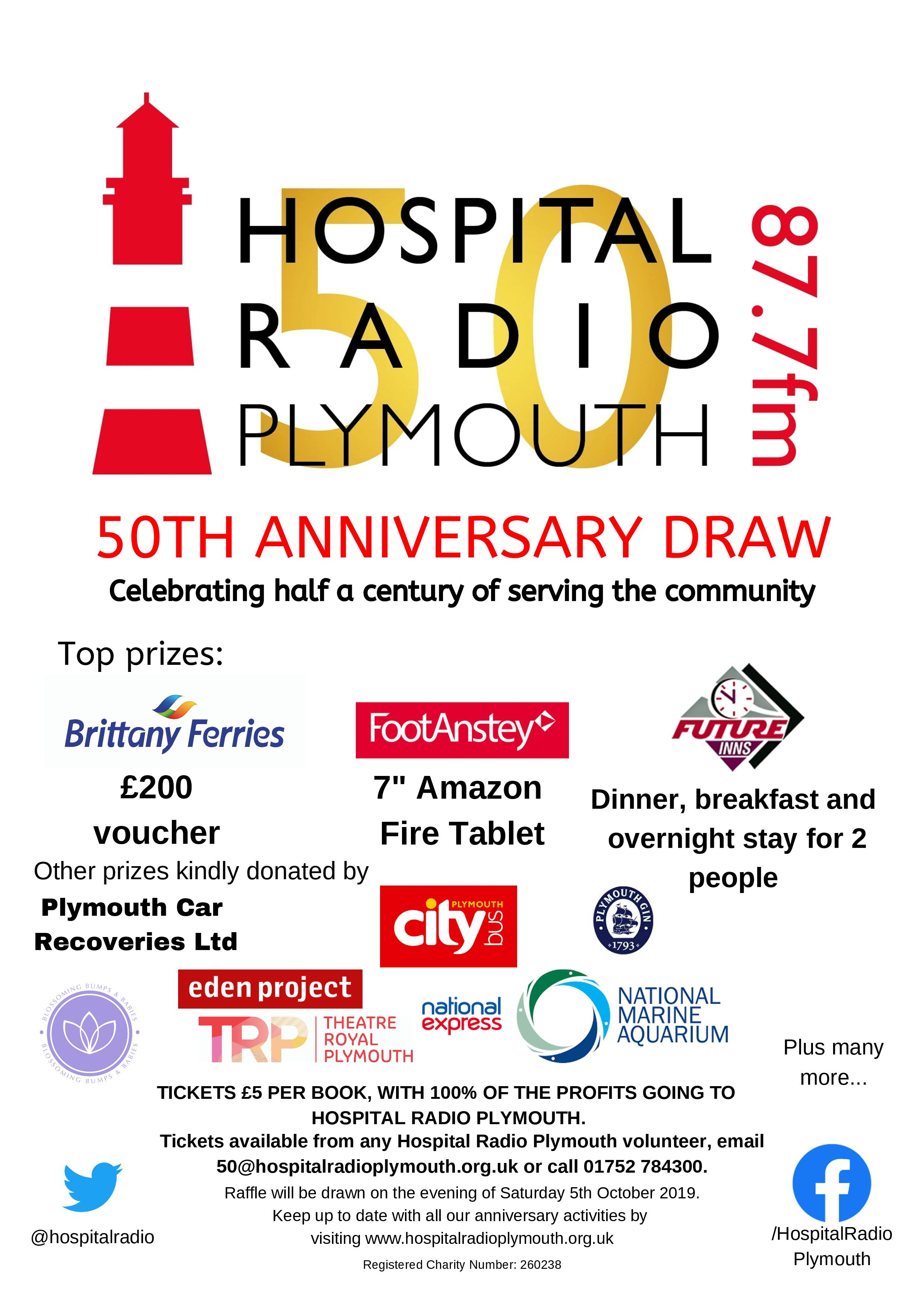 HRP prize draw poster