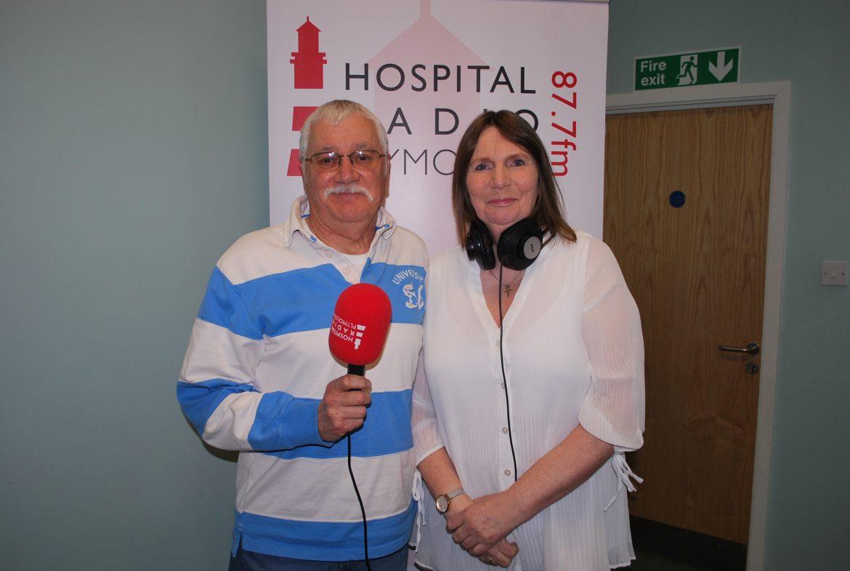 Steve Glanville and Jill Bright, presenters of Requestline